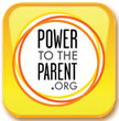 Power to the Parent.org button